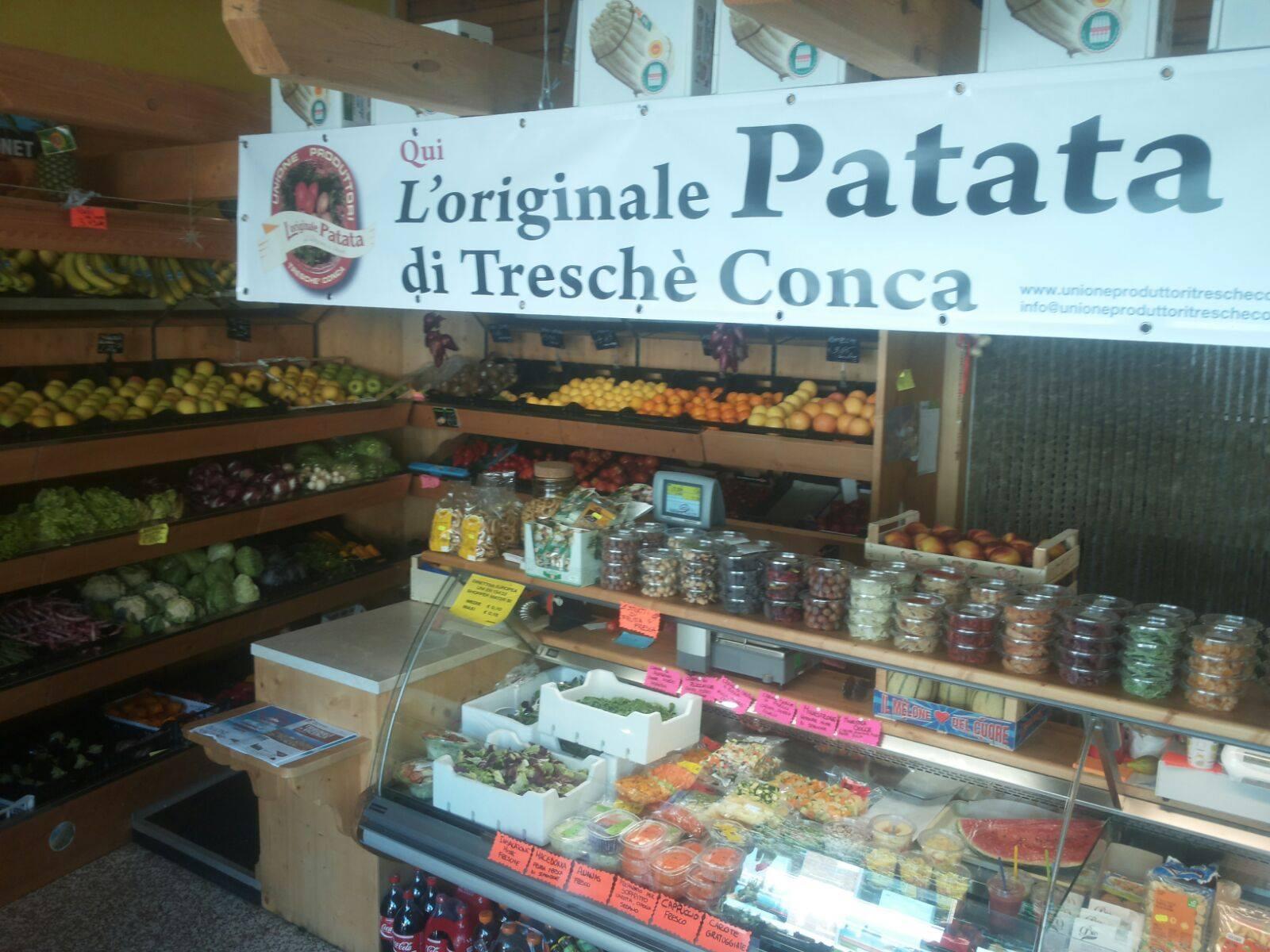 vendere le patate di unione produttori
