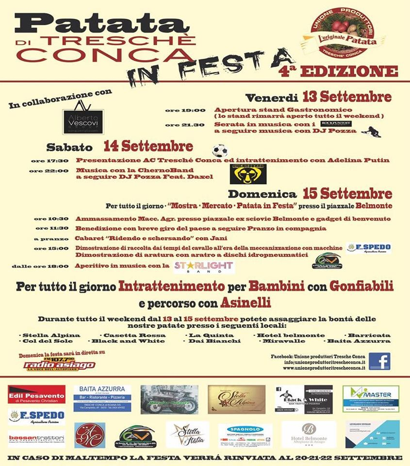 Patata Tresché Conca festa 2019